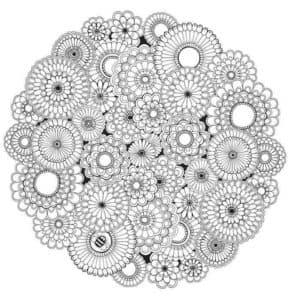 кружки антистресс с узорами