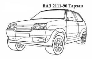 ВАЗ 2111-90 Тарзан