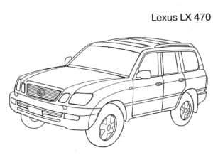 Лексус LX 470