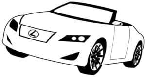 Лексус кабриолет