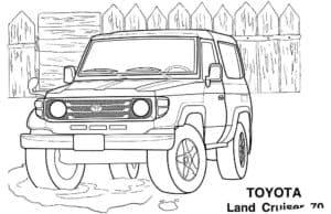 Тойота Ленд Крузер 70