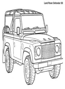 ленд ровер дефендер 90