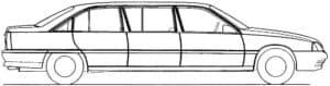 Лимузин детская раскраска