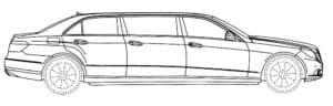 Лимузин с тремя дверями