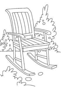 стул качалка