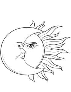 месяц и луна