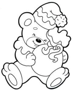 Медведь с мешочком