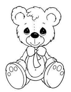 медведь сидит на попе