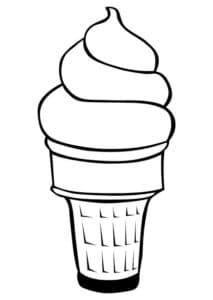 мороженное рожок