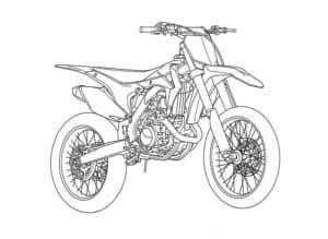 Быстрый мотоцикл