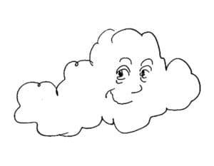 облако с глазами