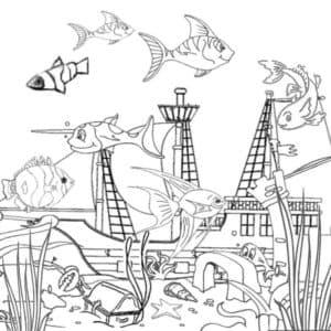 красивый подводный мир