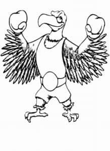 Орел боксер
