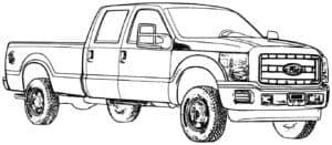 Форд машина пикап