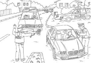 Гаишники останавливают машины