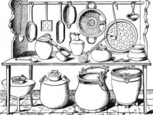раскраска посуда