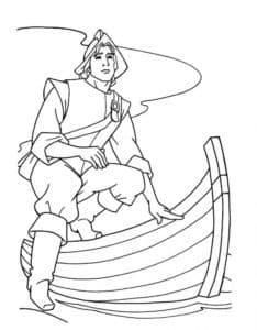 Принц на лодке