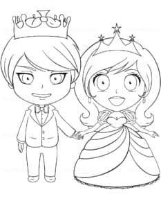 маленький принц и принцесса