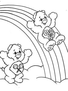 медвежата на радуге