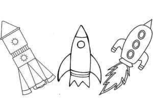 Три ракеты