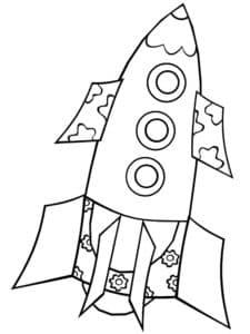Ракета с узорами