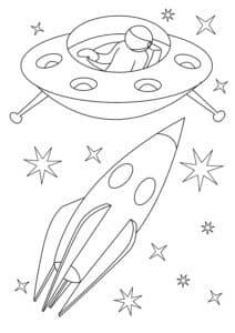 Ракета и инопланетяне
