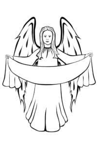 ангел с полотенцем