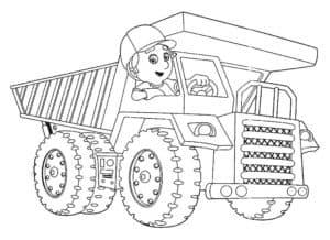 Самосвал с водителем