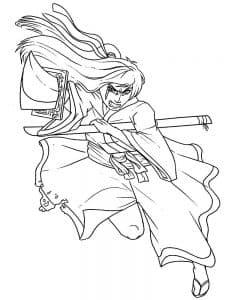 Женщина самурай