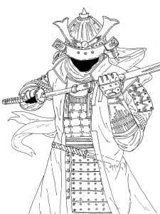 Самурай японский