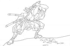 Самурай с кинжалами