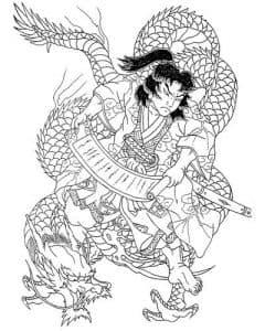 Самурай и дракон