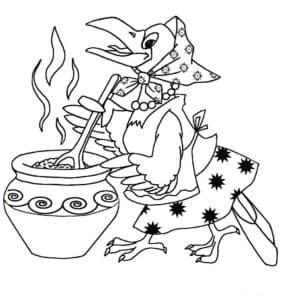 сорока кашку варит