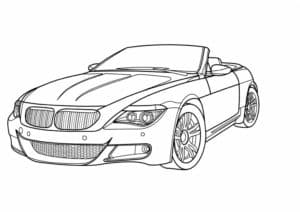 Спорткар BMW