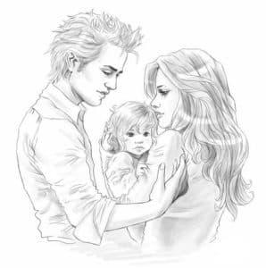 Белла с эдвардом и ребенком