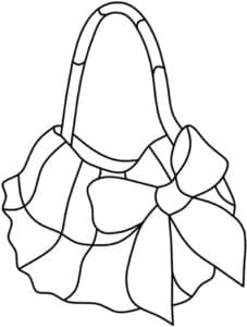 сумочка с бантиком