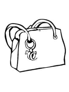 сумка с боковым корманом
