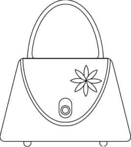 женская сумка с колесиками