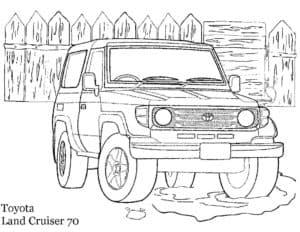 Тойота ланд крузер 70