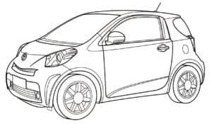 Тойота миниатюрная
