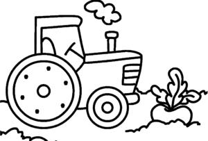 Трактор и репка