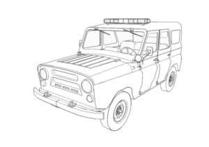 Машина УАЗ