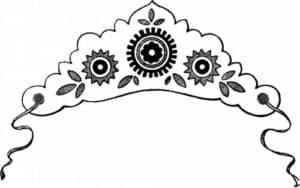 корона с лепестками
