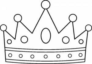 Корона царя раскраска