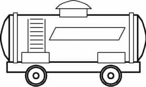 вагончик поезда