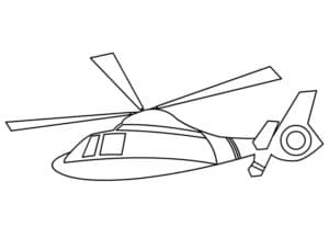 Красивый вертолет
