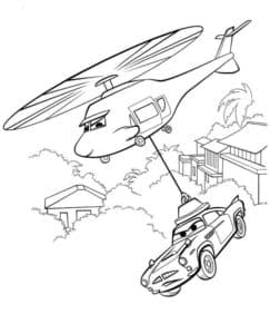 Вертолет робокар Полли