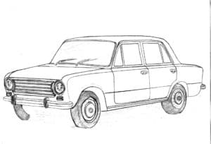 Машина жигули