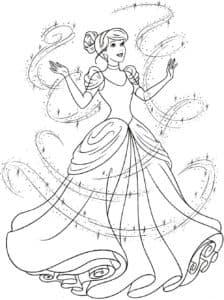 Золушка превратилась в принцессу