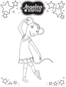 балерина мышка